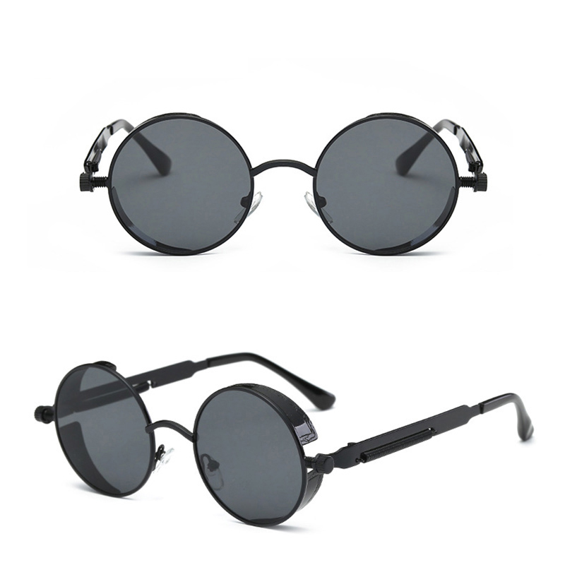 Round Metal Cycling Eyewear Protective Antifog Glasses Work Men Safety Welding Glasses Brand Designer Retro Vintage UV400 цена