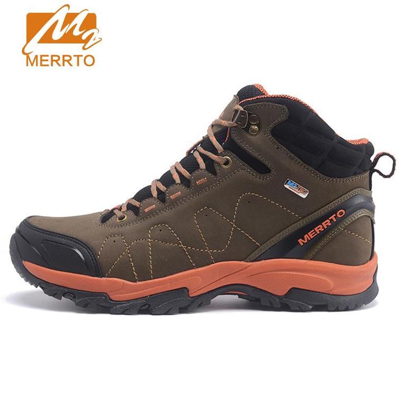 Männer Wandern Schuh Sport Leder Outdoor Wandern Sneakers Schuhe Sport Herren Kletterschuhe SsJTn