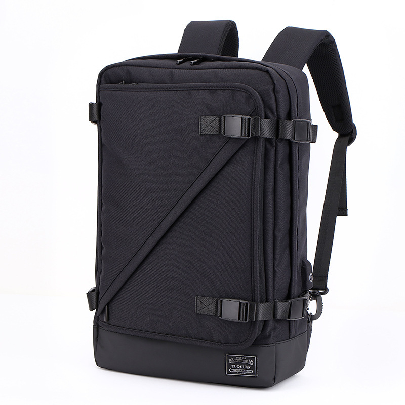 Tuguan Business Backpack Affairs Oxford Cloth Both Shoulders Man Bags Usb Laptop Bag Men More Function Computer Package Mochilas