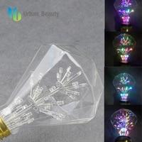 Urban Beauty Led Light Bulb G95 G125 Led Dimmable Lamp Edison Filament Light Bulb E27 Fireworks