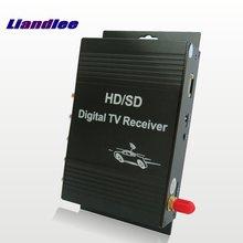 Liandlee Car Digital T V ATSC Receiver D-TV Mobile HD Turner Antenna Host For Hyundai KIA Ford Chevrolet Volvo