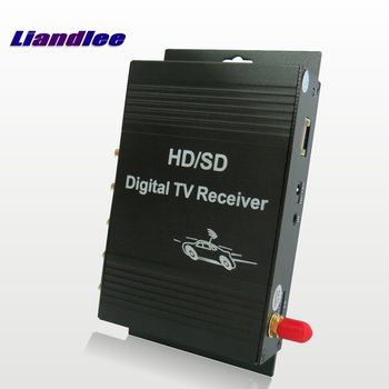 Liandlee Car Digital T V ATSC Receiver D-TV Mobile HD Turner Antenna Host For Hyundai For KIA For Ford For Chevrolet For Volvo image