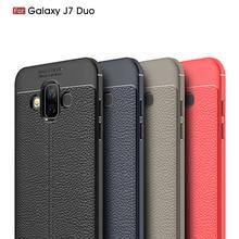 Carbon Fiber Cover Case For Samsung GALAXY J7 Duo Cases SM-J720F Silicon Soft For Samsung GALAXY J7 Duo Case Coque Etui Fundas все цены