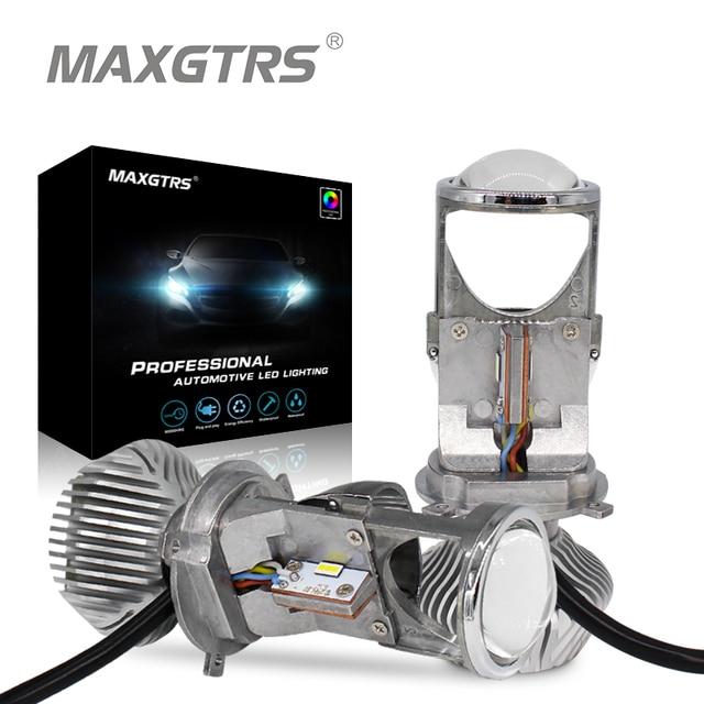 "Best Price 1Pair 70W H4 LHD Car LED Bulbs HID Bulb Light Lamp Hi/Lo Beam Headlight 1.5"" Micro Auto Mini Projector Lens 5500K DC12V/24V"