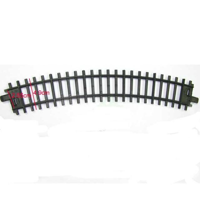 Sale Electric Railway Train Track Parts 12 pcs / lot Railroad Track DIY Assembled Class Children's Educational Toy