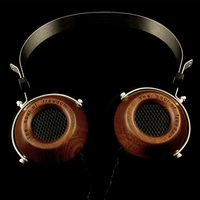 Fully enclosed monitor Open HIFI grade wood retro headphones