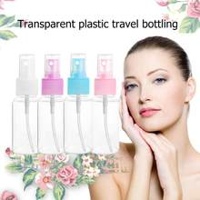 Clear Plastic Portable Perfume Spray Bottle Empty Perfume Bottles Refillable Mist Pump Perfume Atomizer Travel 30/50/100ml(China)