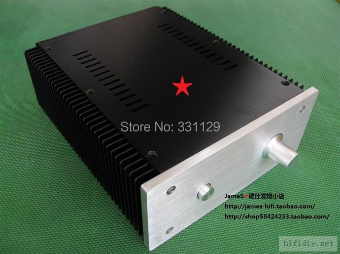 Breeze Audio-full aluminum chassis 2109 power amplifier case full version (aluminum enclosure) стоимость