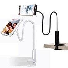 Długie ramię stojak pod PC lub tableta obrót w całości z metalu leniwy blat stołu uchwyt 4 10.6 cal uchwyt do smartfona do ipada Air Mini 1234 uchwyt