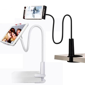 Image 1 - Long Arm Tablet PC Stand Rotation Full Metal Lazy Bed Table Bracket 4 10.6 inch Smartphone Holder for iPad Air Mini 1234 Holder