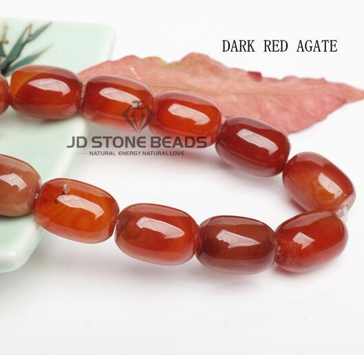 JD Stone Beads Red Agate...