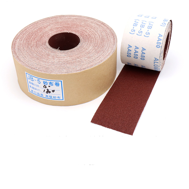 <font><b>1</b></font> <font><b>2</b></font> 3 Meter <font><b>80</b></font> 120 150 180 240 320 400 600 Grit Metal Wood Polishing Sandpaper Emery Cloth Roll Gindring Lapping Abrasive Tools image