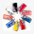Высокое качество роскоши алмаза женщины кошельки Бумажник PU Кожаный бумажник женщины Кошелек сцепления кошелек сумка/сцепления для женщин 5 цвета