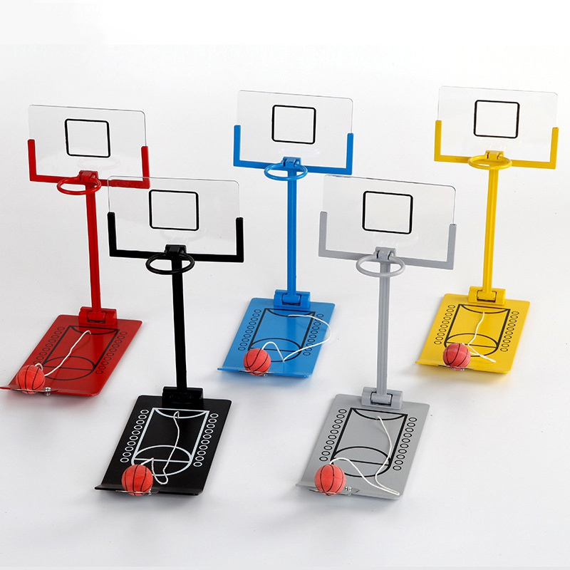 Basketball Stands Table Entertainment Office Table Basketball Goal Hoop Toy Set Kids Men Women Training Practice Outdoor Toy