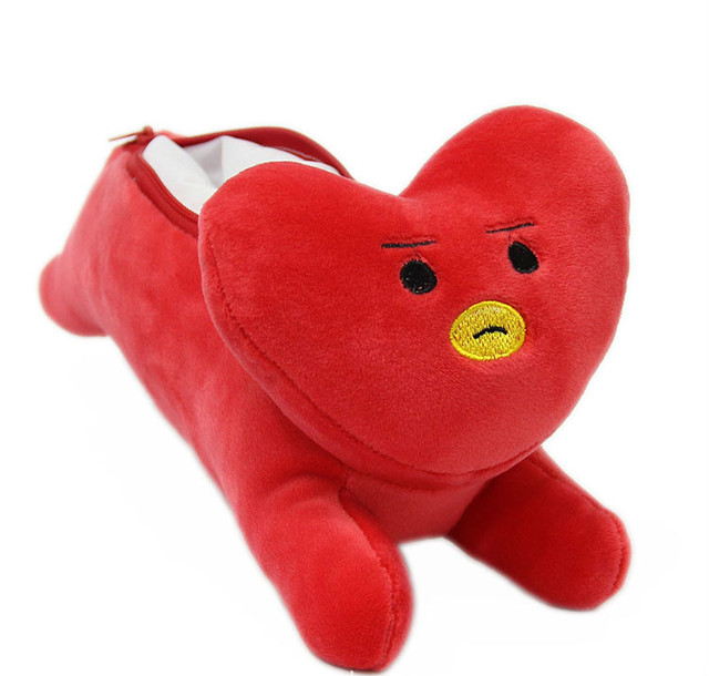 BTS Plush Pencil Case