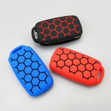 For Volkswagen polo passat golf 5 6 Beetle for SEAT for Skoda New design Style of football Silicone car key cover case