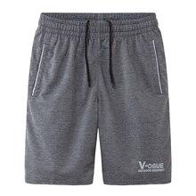 Мужчина шорты летние 2017 новая весна мужской колен повседневная трикотажные подросток шорты мода плюс размер 4XL 5XL черный серый