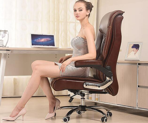 Computer Chair Home Office High Chair Ergonomic Lifting Chair Fashion Leather Art Chair. new pu leather high back desk office chair executive ergonomic computer task hw50277