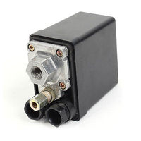 AC 240V 15A 12 Bar 1 Port Air Compressor Pump Pressure Control Switch Valve