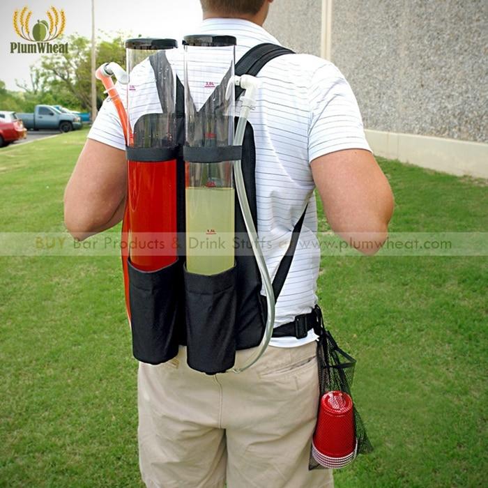 6 Liters DUAL Shot Backpack Beer and Beverage Dispenser BT07