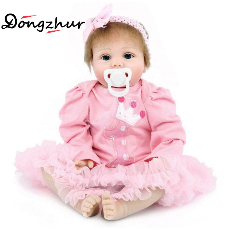 Body NPKDoll Reborn-baby-doll Silicone Pink Reborn Baby Dolls Baby Real Tangkou Dolls Silicone Newborn Npkdolls Sleeping Dolls kawaii baby dolls