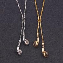 2018 Fashion Jewelry Men Necklace Hip Hop Music Headphone Pendant Necklaces Cool