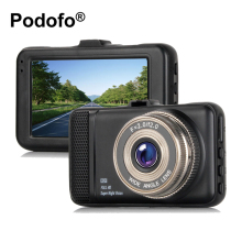 Podofo 3.0 Inch Dash Cam Full HD 1080P Car DVR Camera Video Recorder Camcorder Dvrs Dashcam Registrator Blackbox