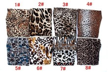 Leopard Flowers Leggings [8 Various Prints]