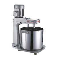 15L Double Shaft Egg Beater High Efficiency Large Mixing Machine Commercial Electric Egg Mixer With Barrel JD 15
