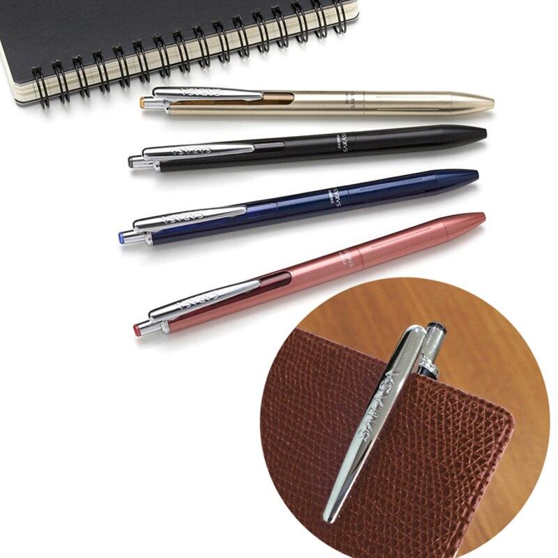 zebra edicao limitada gel caneta colorida metal 04