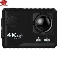 4 K Ultra-HD Camera Hành Động Thể Thao với Màn Hình Cảm Ứng/Voice Control/Điều Khiển Từ Xa/2.4 Ghz WiFi với Miễn Phí Vận APP/Định Vị GPS