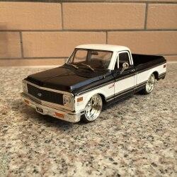 1:24 Jada 1972 Шевроле классический пикап Шевроле выбор автомобиля Модель игрушки