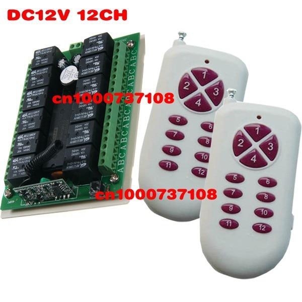 Hot Remote Control Switch 12v Rf Garage Door Remote Control Livolo