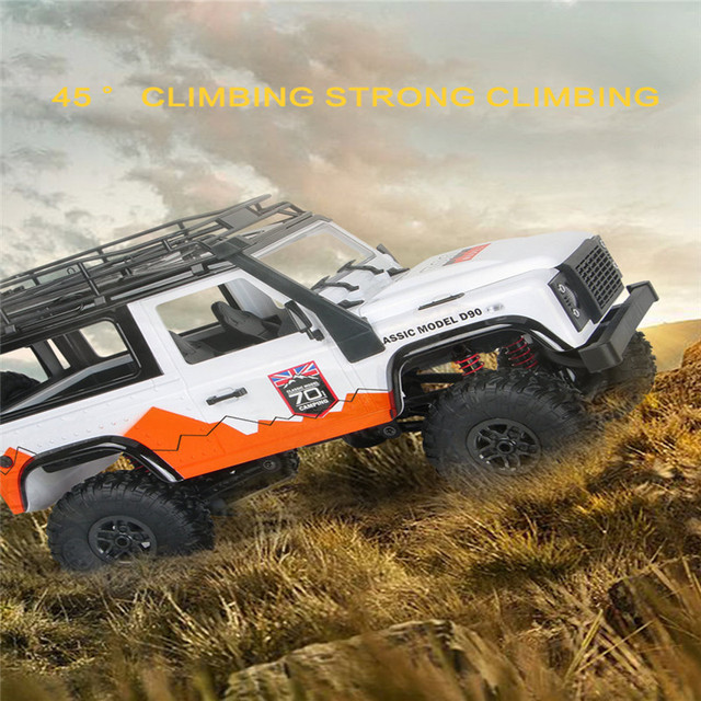MN 99 2.4G 1/12 4WD RTR Crawler RC Car For Land Rover 70 Anniversary Edition Vehicle Toy Model Outdoor Toys Kids VS MN90 MN91 6
