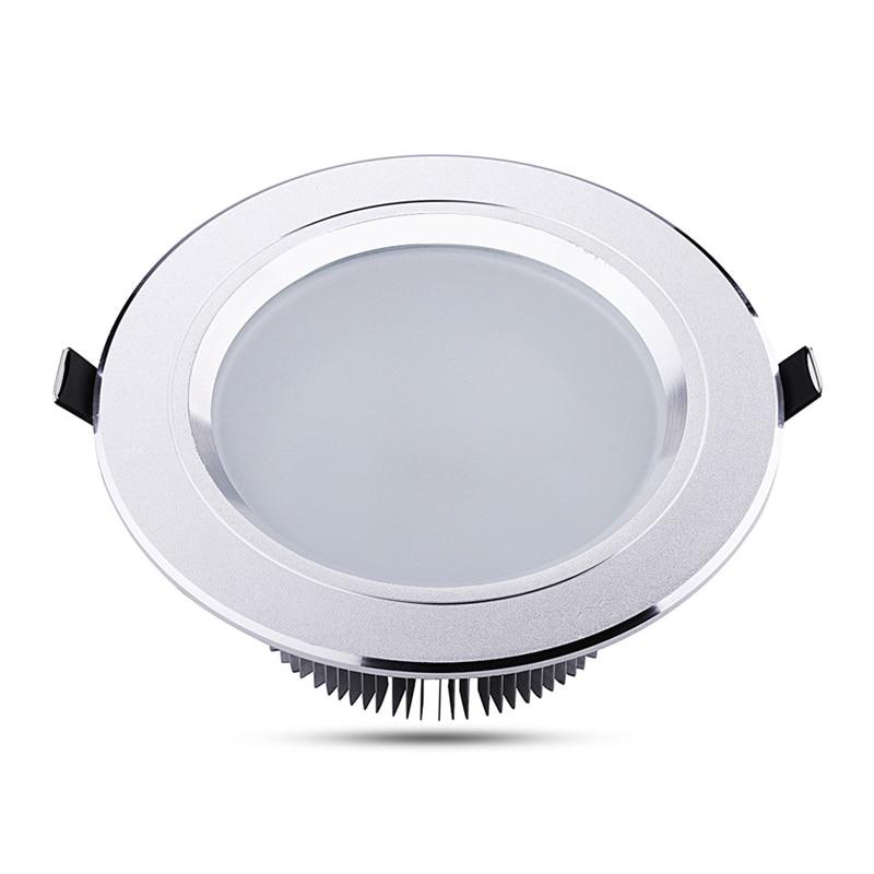 NUEVO Techo LED abajo de luz 3W 5W 7W 9W 12W 15W 18W IP44 empotrada - Iluminación LED - foto 2