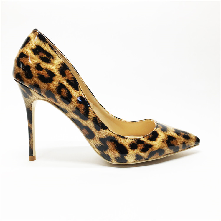 Sexy Women Thin High Heels Patent Women Pumps Party Shoes #3