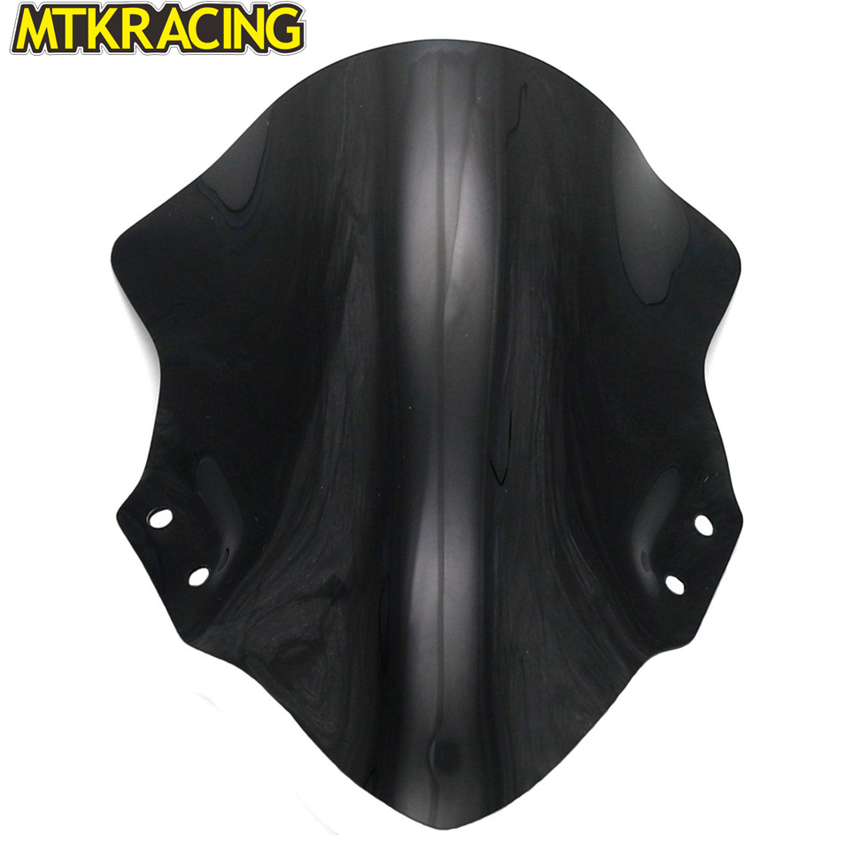 MTKRACING Motorcycle accessories acrylic windshield for kawasaki ninja 400 NINJA 400 2017 2018 in Covers Ornamental Mouldings from Automobiles Motorcycles