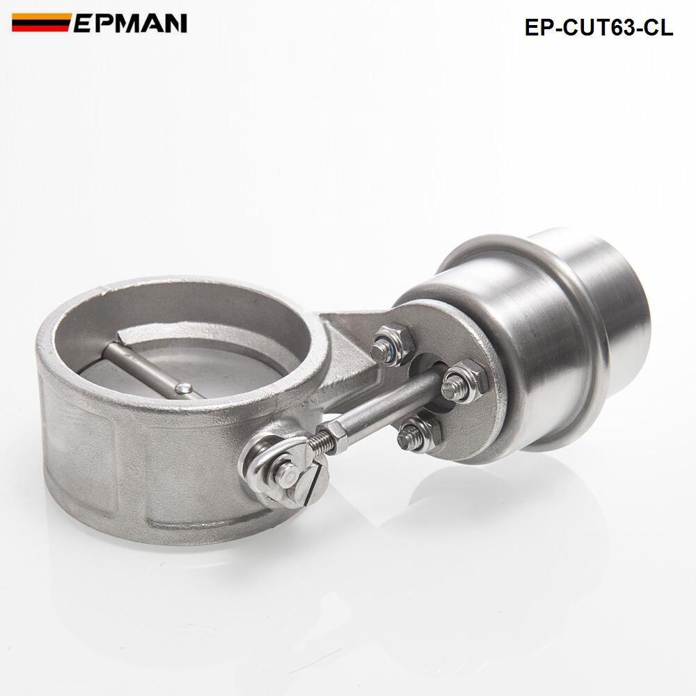 Вакуумный активированный Выпускной вырез/дампа 63 мм близкий Стиль давление: около 1 бар для BMW 3 E30 EP-CUT63-CL