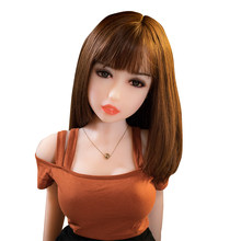 100cm Sex Dolls Real Adult Life Big Breast Vagina Sex Toys for Men Tpe love Dolls Full Size Silicone sex Doll with Skeleton(China)