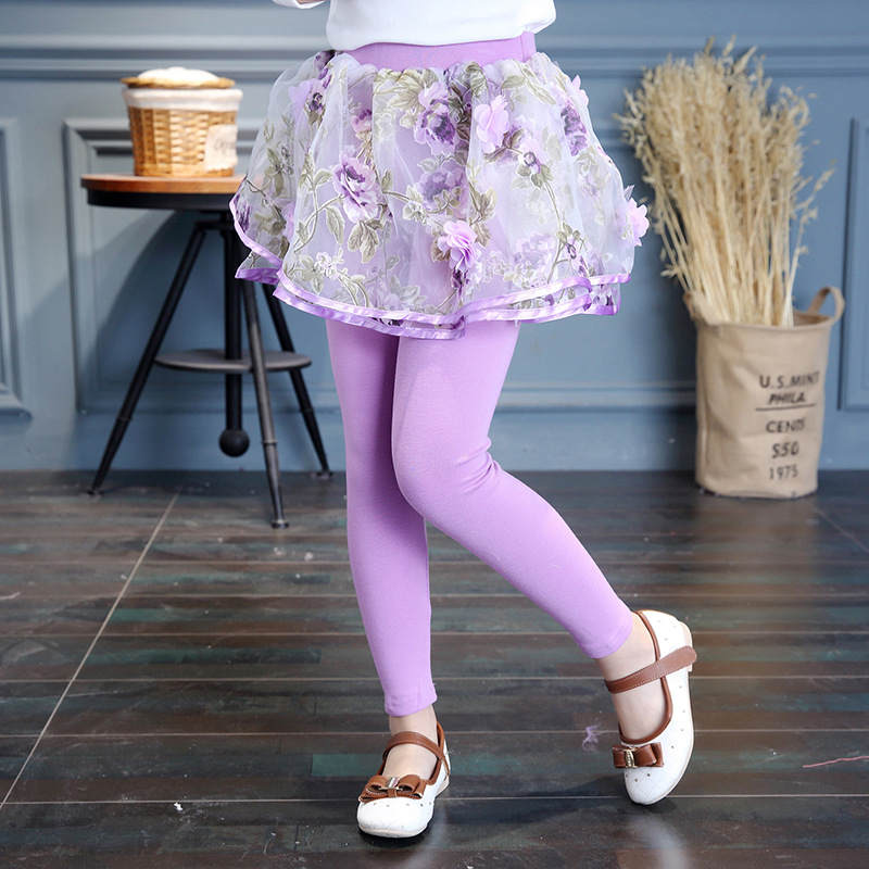 Gadis Legging Rok Celana Bunga Kue Rok Bayi Gadis Musim Semi Musim Gugur Legging Anak Perempuan Rok Celana Bootcut Untuk 2 14 Anak Anak Girls Leggings Girls Skirt Pantslegging Children Aliexpress