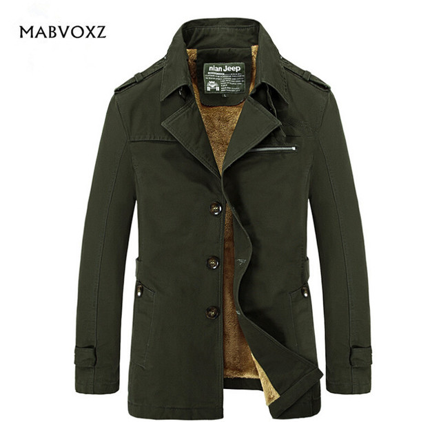 Winterjas Heren M.Winterjas Mannen Merk Kleding Heren Coat Hoogte Warm Katoen Nian