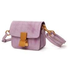 Bandolera de cuero auténtico púrpura/rojo/Negro/caqui/verde para mujer, bolsos cruzados para mujer/novia/señora bolsas de cumpleaños