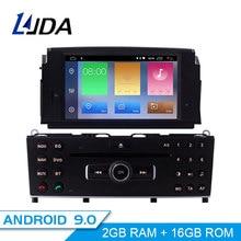LJDA 1 Din Android 9.0 Car DVD Player Per Mercedes Benz C200 C180 W204 2007-2010 WIFI Car Multimedia player GPS Navi Autoradio