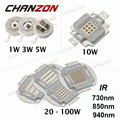 High Power LED Chip 730nm 850nm 940nm IR LED Infrared 1W 3W 5W 10W 20W 30W 50W 100W 850 nm 940 nm Emitter Light Lamp LED Beads