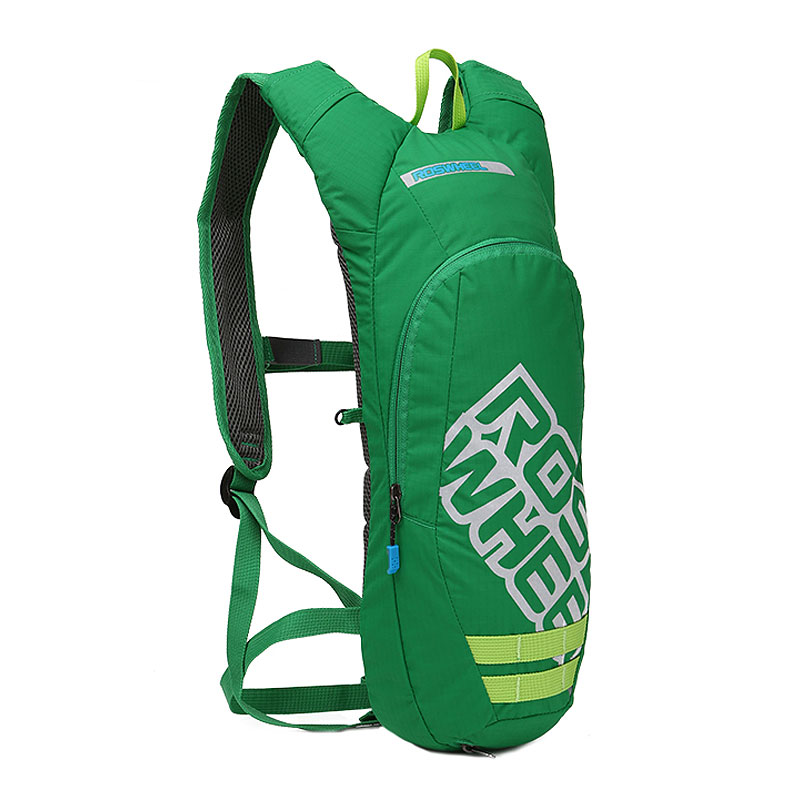 ROSWHEEL Cycling Backpack 2.5L Breathable Fabrics Bag With 2L Non-toxic Water Bladder Light Weight Sports Outdoor Running 151366