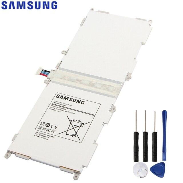 Original Samsung Tablet batería para Galaxy Tab4 Tab 4 SM-T530 T533 T535 T531 T537 de EB-BT530FBU EB-BT530FBC 6800 mAh