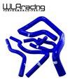 WLRING-6 ПК Радиатора Силикона Шланг, Силиконовый шланг kit W/логотип Для HONDA DOHC CIVIC Type R DC2 EK4/9 B16A/B B18C WLR-LX1304C-BL