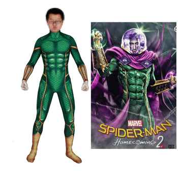 Kids Adult Spider Man Far From Home Mysterio Spiderman Cosplay Costume Zentai Bodysuit Suit Jumpsuit Halloween - DISCOUNT ITEM  20% OFF All Category