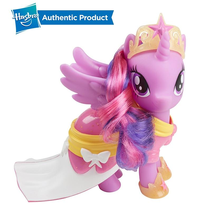 Hasbro 6 Little Pony Toy Girl Friends Princess Rainbow Dash Twilight Sparkle Action