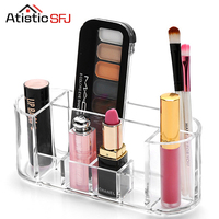 Atistic SFJ Fashion Practical Cosmetic Container Acrylic Makeup Organizer Stationery Organizer Storage Container Jewelry Box